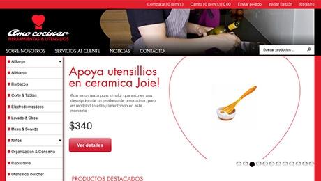 Tienda online para la cocina