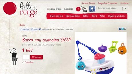 Tienda online de ropa y juguetes