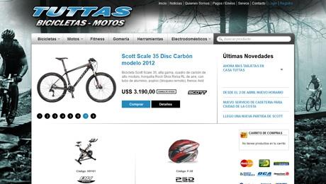 Tienda Online de Bicicletas