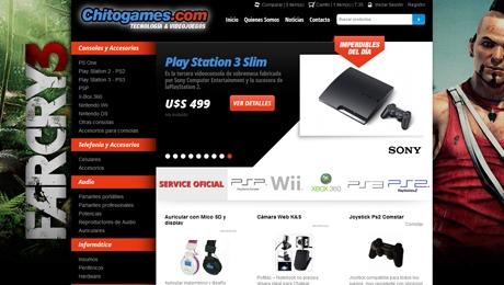 Tienda Online de Consolas y Videojuegos