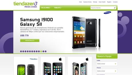 Tienda virtual de celulares