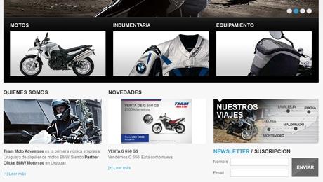 Portal de Alquiler de Motocicletas y Viajes