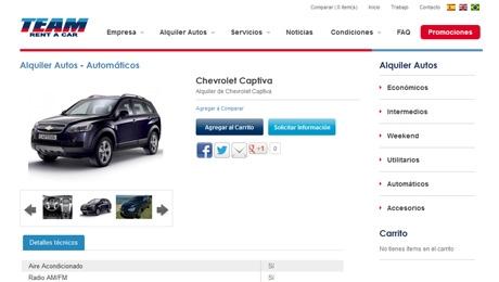 Portal de Alquiler de Autos