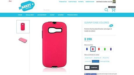 Tienda online de Celulares y Accesorios
