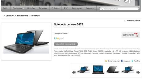 Catálogo Online de Tecnología